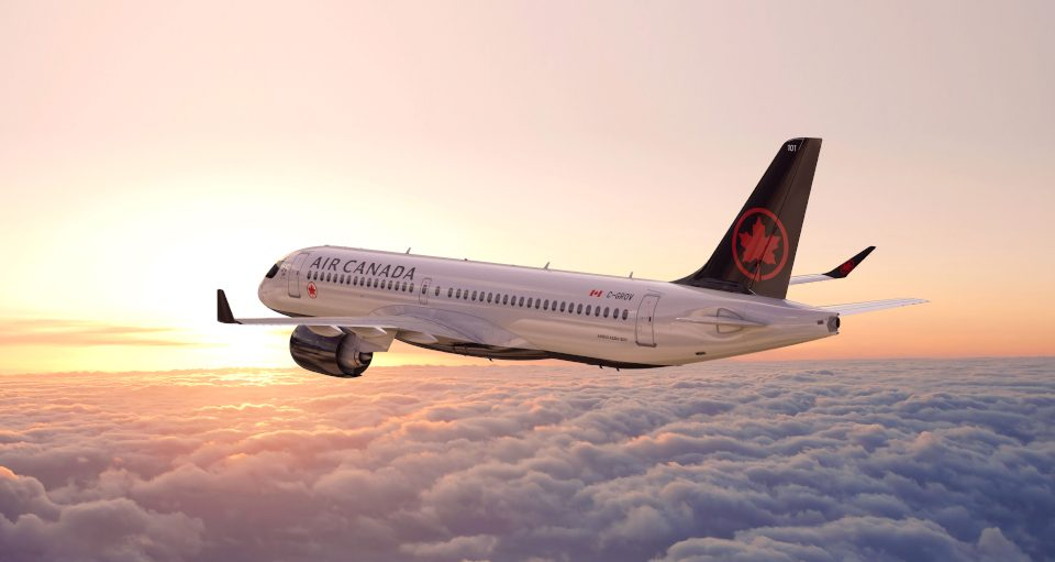 Air Canada Seattle Montreal