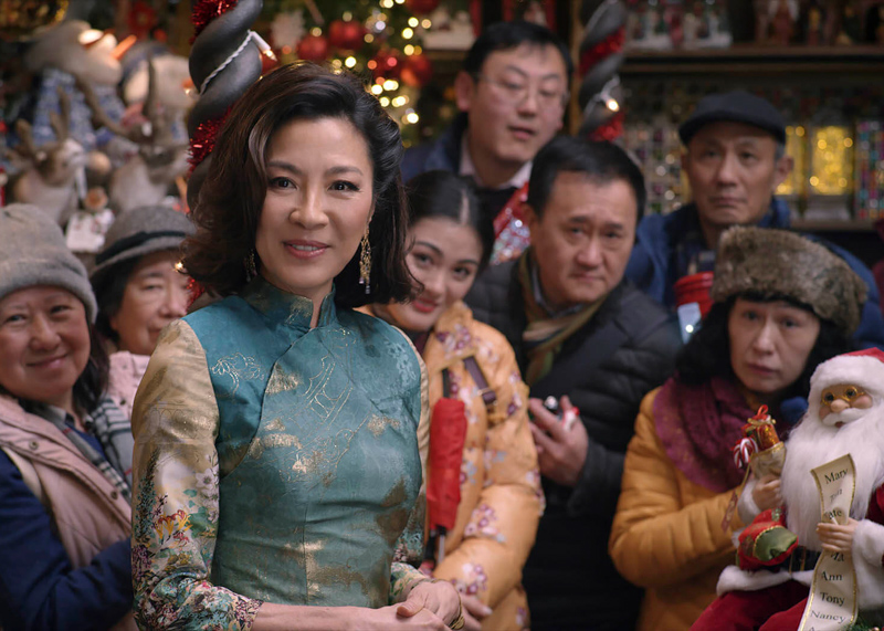 Michelle Yeoh christmas