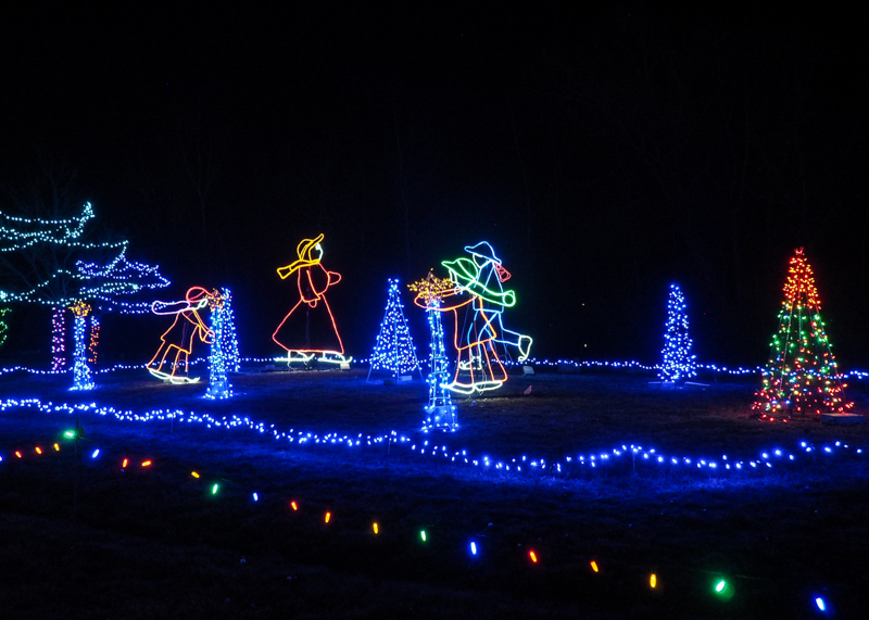 Christmas Lite Show Michigan
